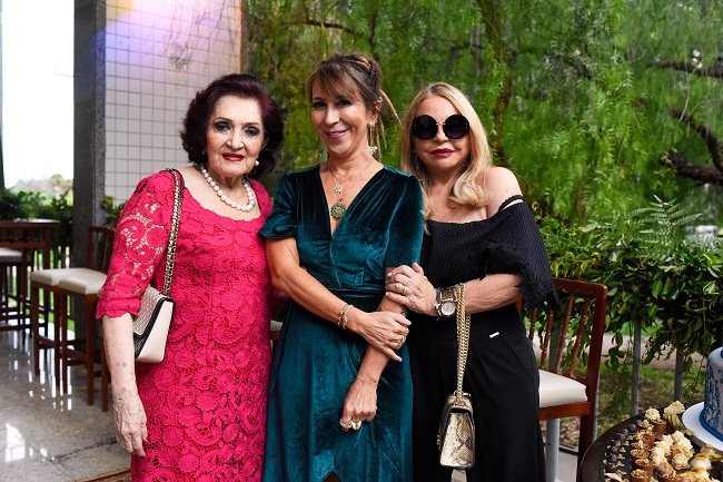 Odaiza Alves, Vania Ladeira e Gracia Cantanhede (Raimundo Sampaio/Esp. Encontro/DA Press)